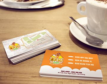 Name Card Bánh bì Bamizon