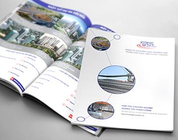 Thiết kế catalogue Công ty Cổ Phần Thép Trường Sơn